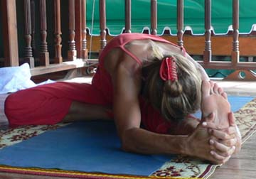 Janu Shirsa Asana (Head to Knee)