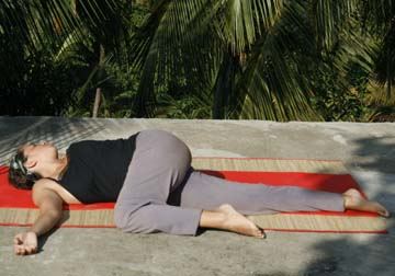 Triak Asana (Twisting)