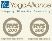 Yoga Alliance Registered School - 200 & 500 Hr RYS